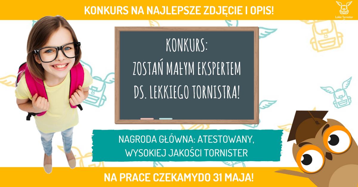 ef3061a4b1f90 Konkurs z nagrodami – Lekki Tornister